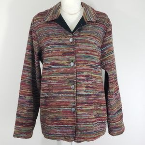 Coldwater Creek Multi-Colored Jacket, Size L